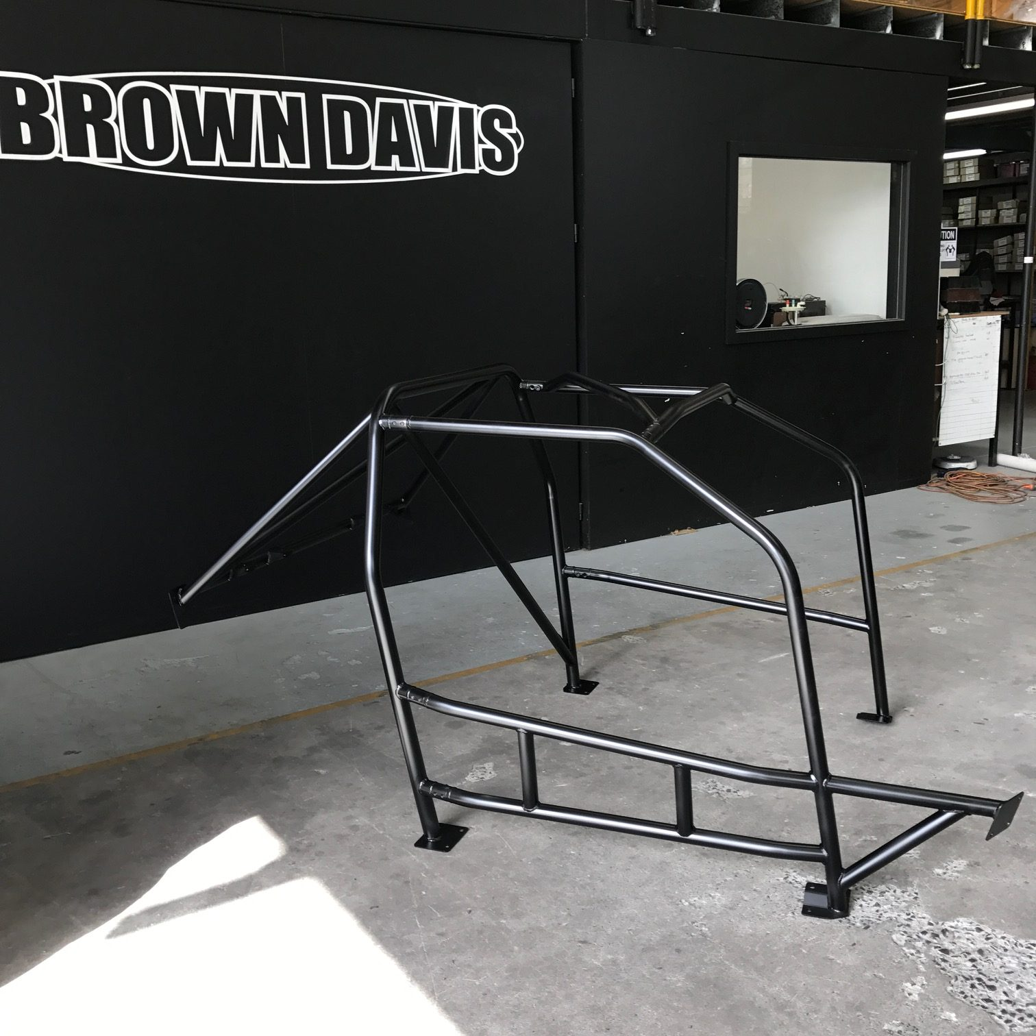 Hyundai Excel Bolt In Roll Cage Extra Drivers Side