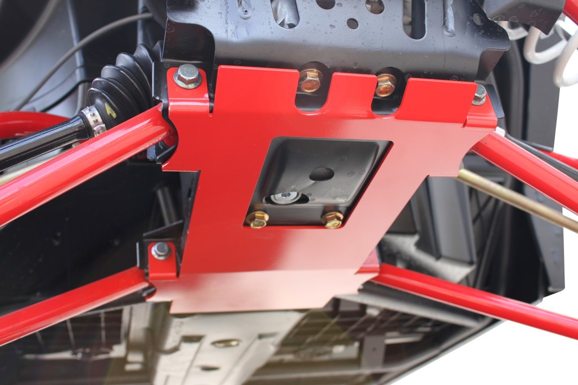 Dragon Fire Front Gusset Kit For Polaris Rzr Brown