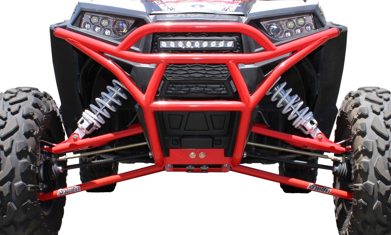 Dragon Fire- Front Gusset Kit for Polaris RZR – Brown ...
