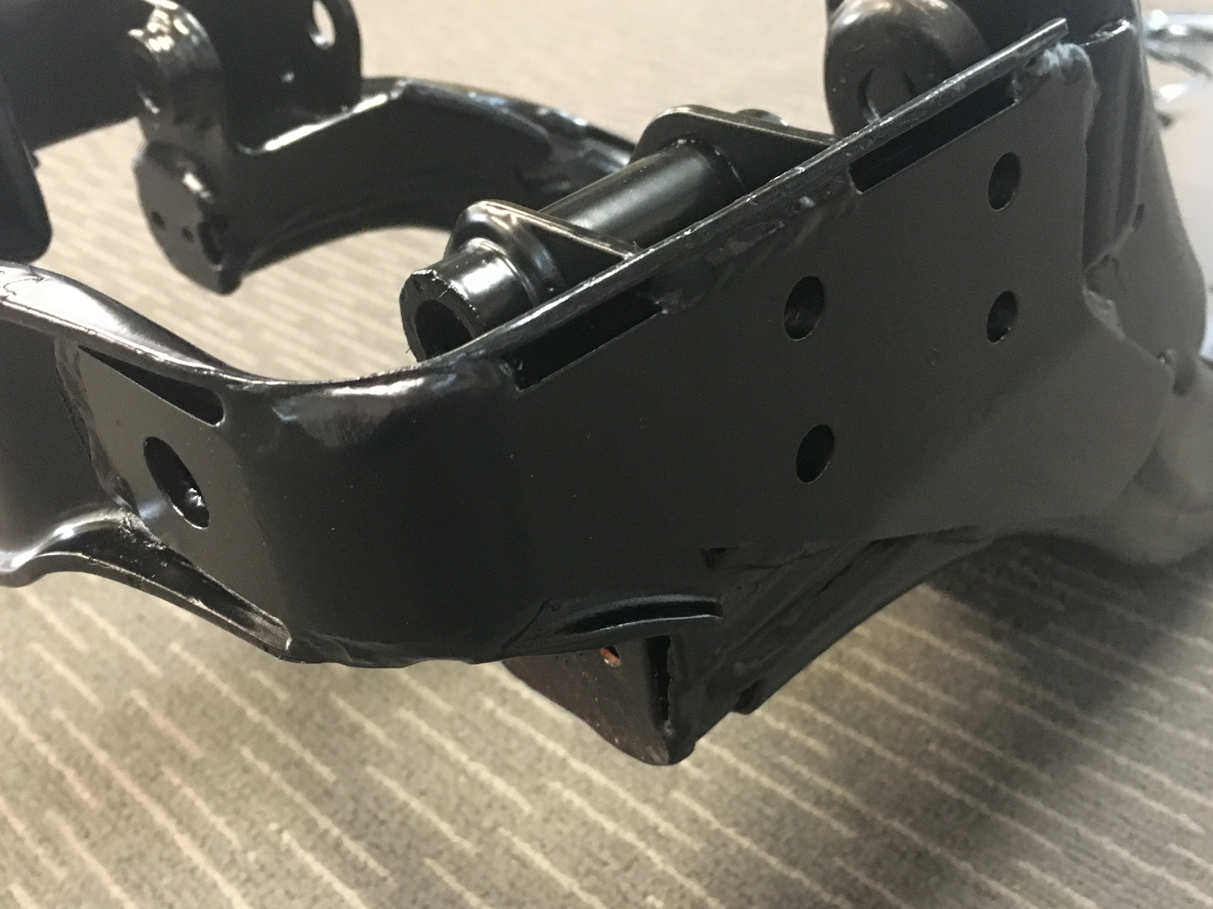 Can Am Maverick X3 Reinforced Rear Trailing Arms Brown